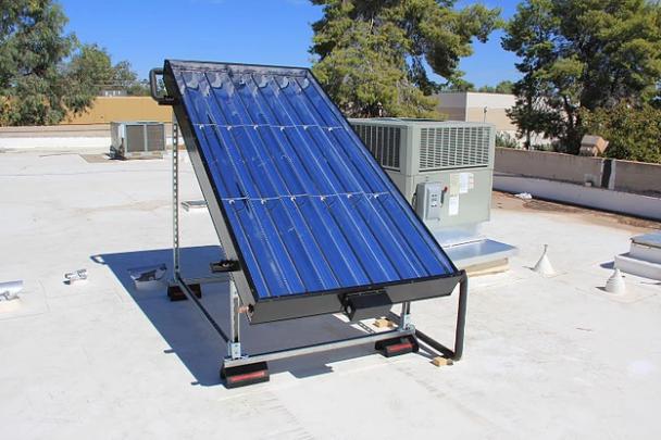 Commercial installation in Tempe, AZ, USA