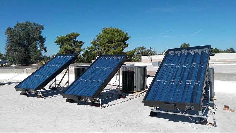 SunTrac commercial installation